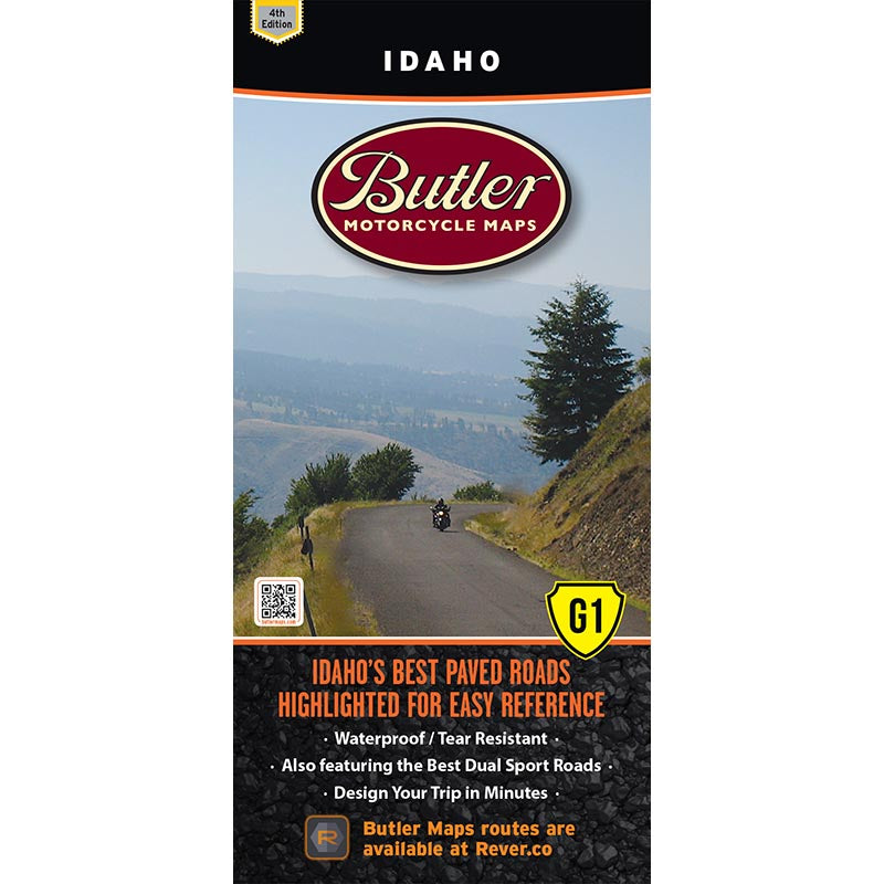 Idaho G1 Butler Map - 4th Edition