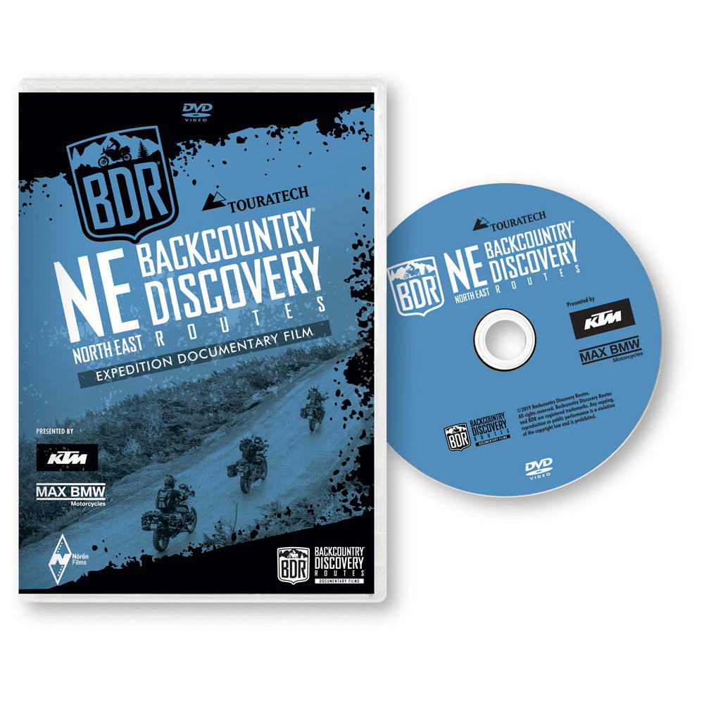 Northest NEBDR Backcountry Discovery Route DVD