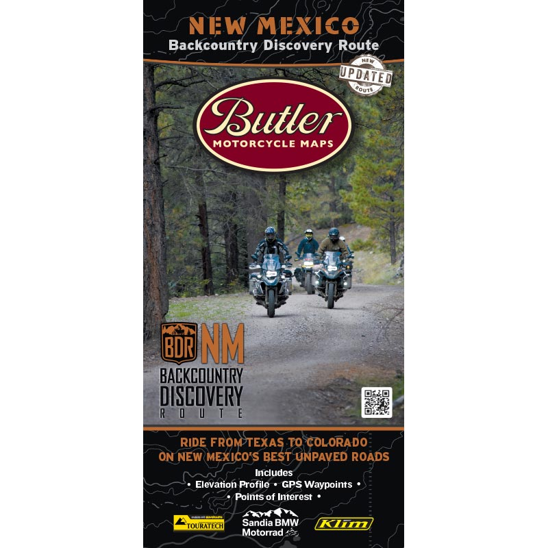 New Mexico NMBDR Backcountry Discovery Route Map - 2nd Edition