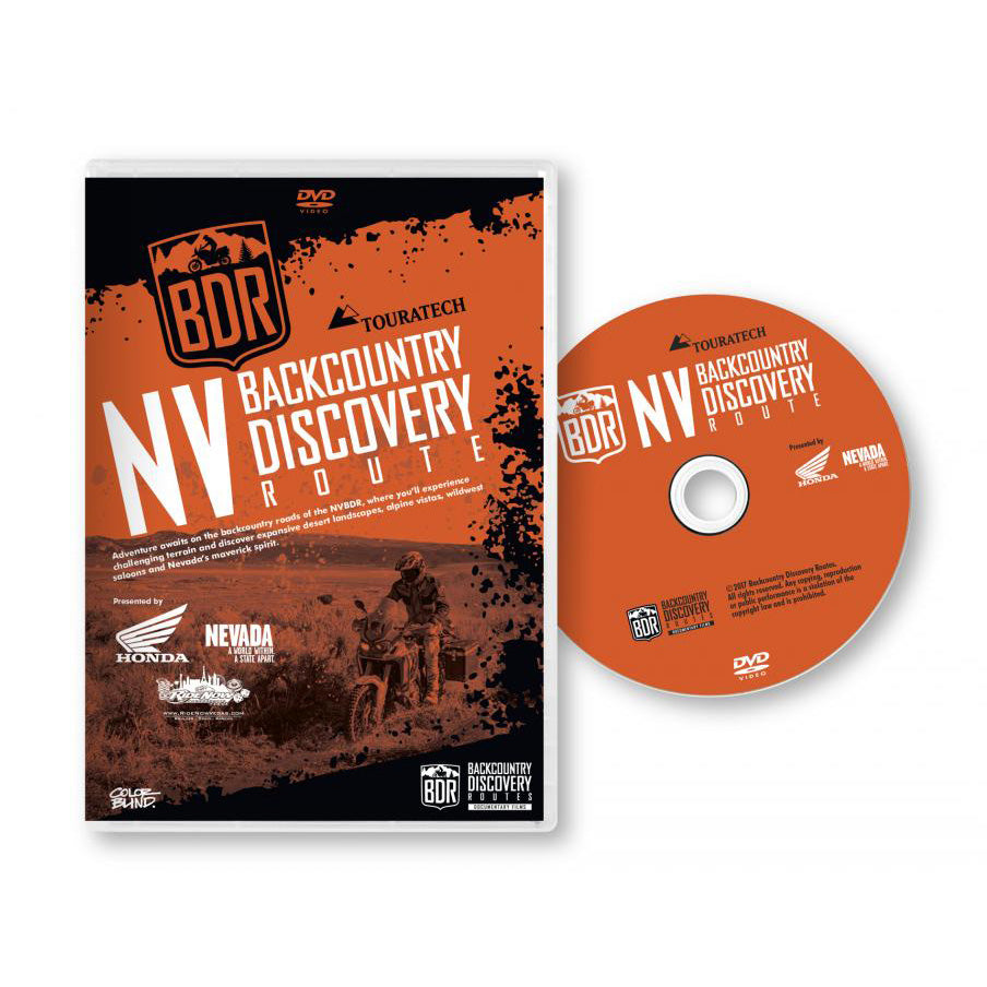 Nevada NVBDR Backcountry Discovery Route DVD