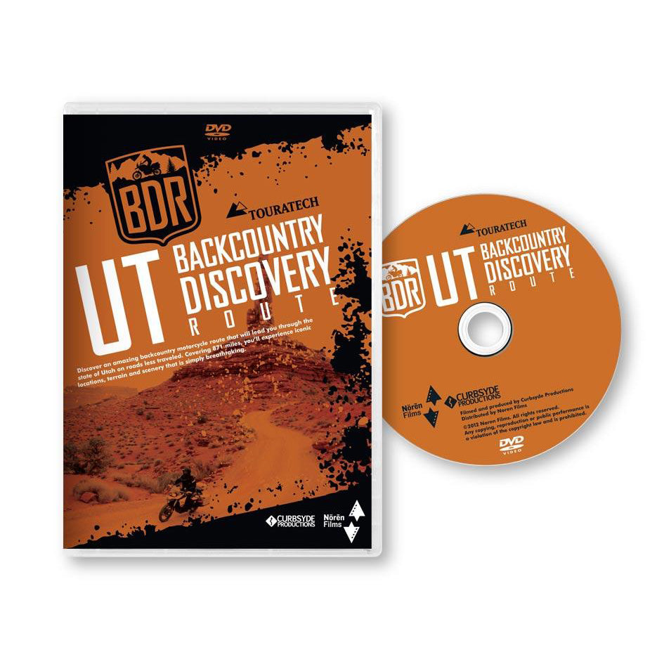 Utah UTBDR Backcountry Discovery Route DVD