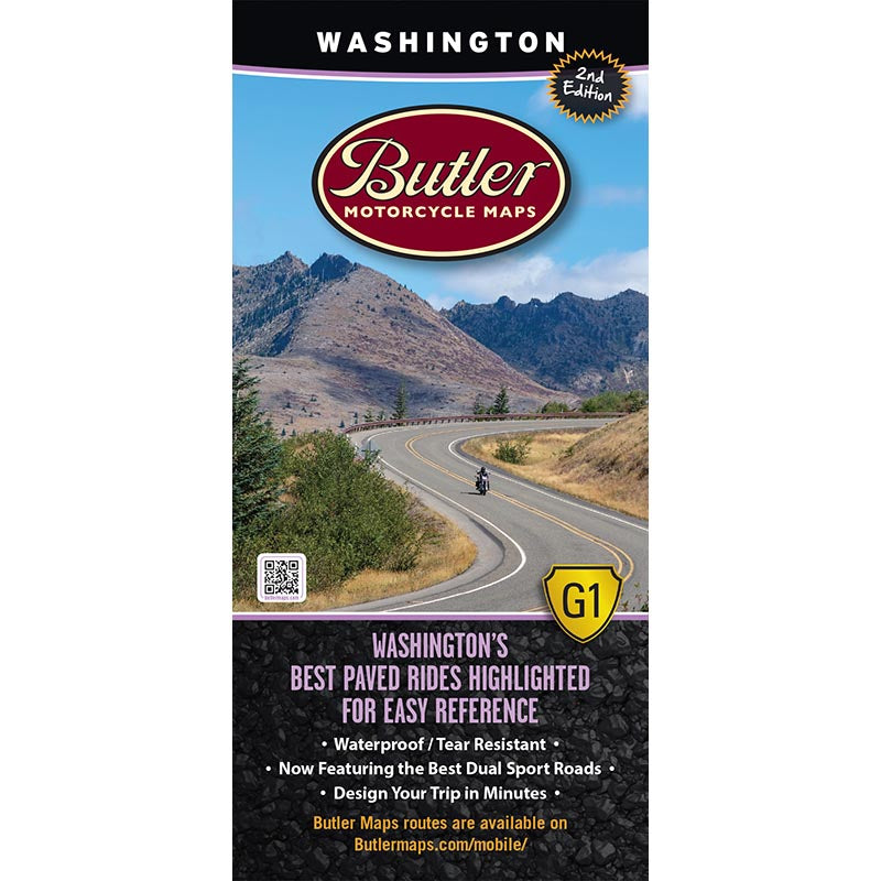 Washington G1 Butler Map - 2nd Edition
