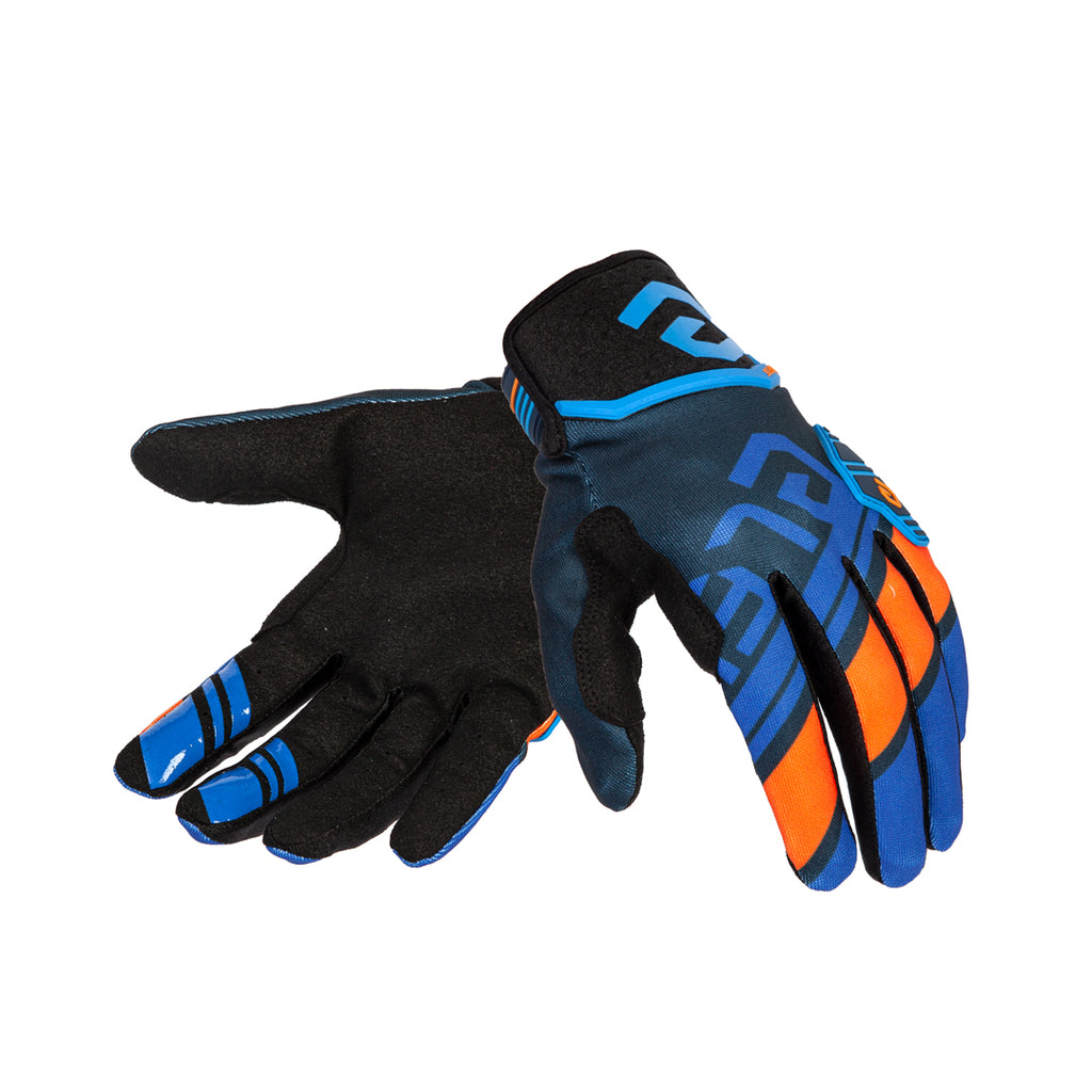 X-Legend Blue/Orange Men Gloves