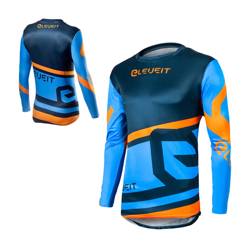 X-Legend Blue/Orange Men Jersey
