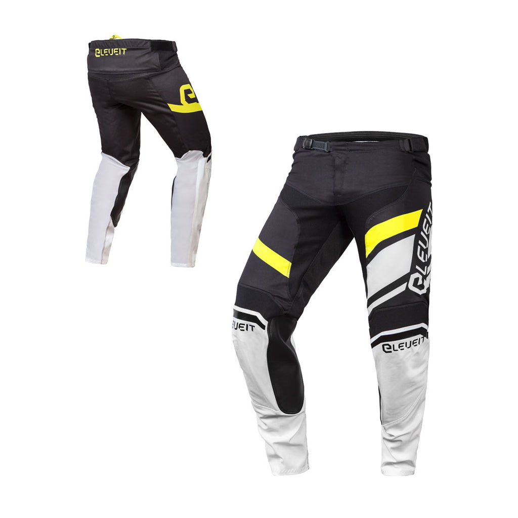 X-Legend Black/Yellow Men Pant