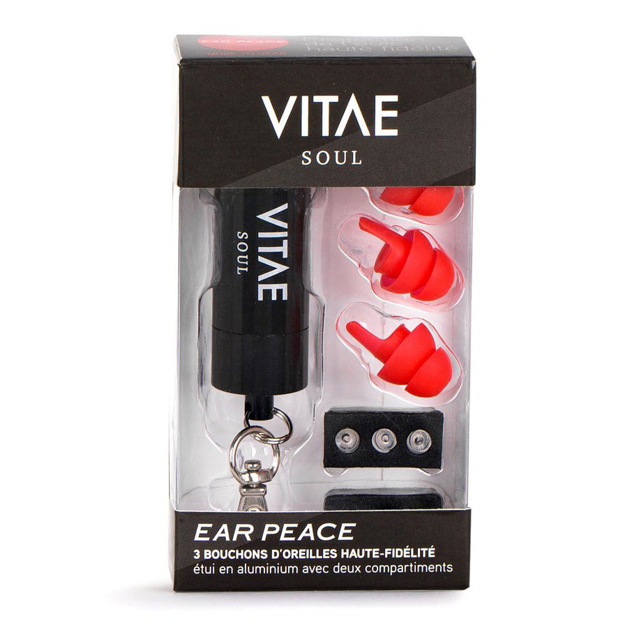 Red Protective Earplugs