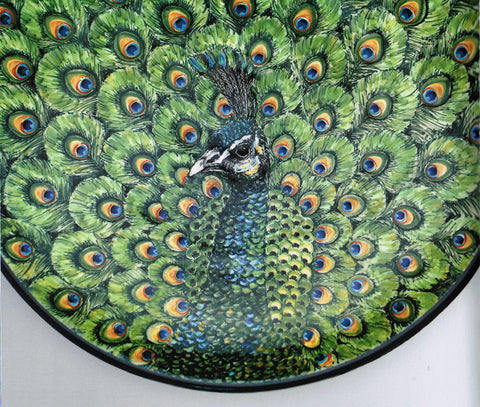 Polish Pottery peacock