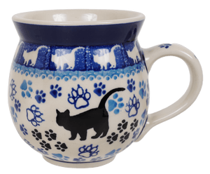 12 oz. Belly Mug (Cat Tracks)