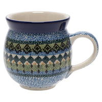 12 oz. Belly Mug (Aztec Blues)