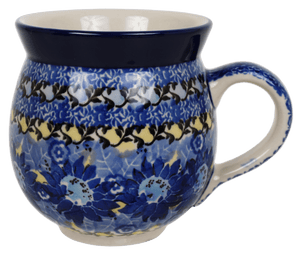 12 oz. Belly Mug (Sky Flower)