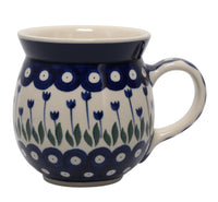 Large Belly Mug (Tulip Dot)