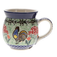 Large Belly Mug (Blue Chicken)