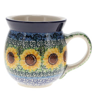 Large Belly Mug (Sunflowers)