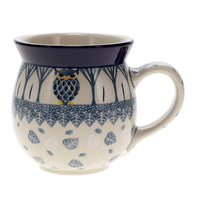 Large Belly Mug (Lone Owl)