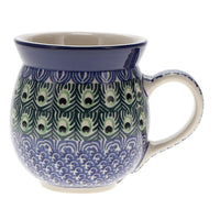 Large Belly Mug (Peacock Dance)