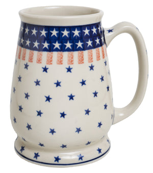 Fat-Bottomed Beer Stein (Americana)