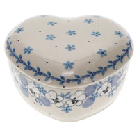 Heart Box (Pansy Blues) | A143-2346X