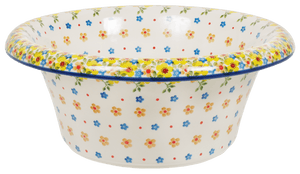 Large Brim Bowl (Garden Delight)