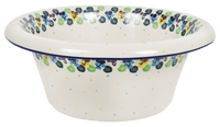 Large Brim Bowl (Pastel Pansies)