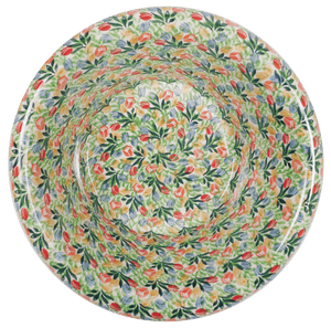Large Brim Bowl (Tulip Burst)