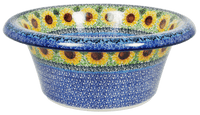 Large Brim Bowl (Sunflowers)