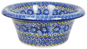Large Brim Bowl (Sky Flower)