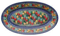 "17.5"" Oval Platter (Signs of Spring)"