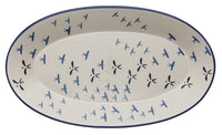 "17.5"" Oval Platter (Birds of a Feather) 