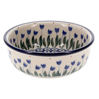 "Shallow 4.75"" Bowl (Tulips on Parade)"