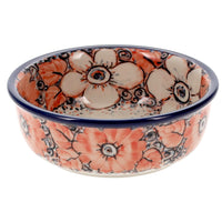 "Shallow 4.75"" Bowl (Peach Perfection) 