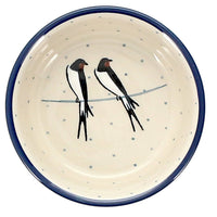 "Shallow 4.75"" Bowl (Birds on a Wire)"