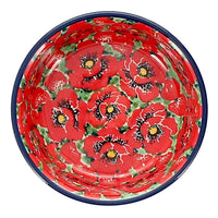 "Shallow 4.75"" Bowl (Poppy Perfection)"
