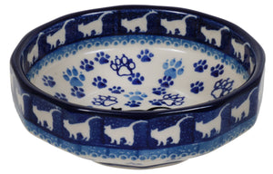 "5"" Multiangular Bowl (Cat Tracks)"