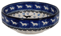"5"" Multiangular Bowl (Wiener Dog Delight) 