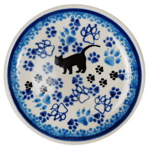 "3.9"" Tiny Plate (Cat Tracks)"