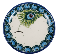 "3.9"" Tiny Plate (Peacock Fan)"
