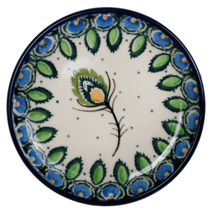 "3.9"" Tiny Plate (Peacock Plume)"