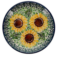 "3.9"" Tiny Plate (Sunflowers) 