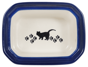 Small Rectangular Canister (Cat Tracks)