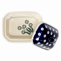 Small Rectangular Canister (Daisy Dot)