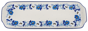 Long Rectangular Tray (Dusty Anemone)