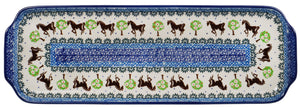 Long Rectangular Tray (Brown Stallion)