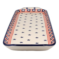Long Rectangular Tray (Stars and Stripes)