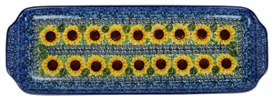 Long Rectangular Tray (Sunflowers)