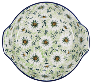 Round Baker with Handles (Daisy Dream)