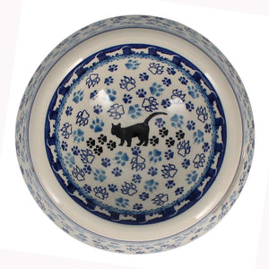 Cat or Small Dog Bowl (Cat Tracks)