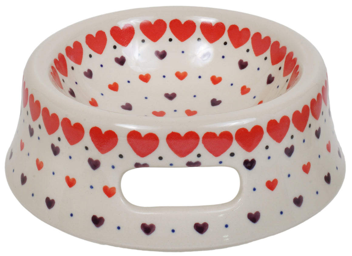 Cat or Small Dog Bowl (Heartbeat)