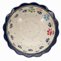Small Fluted Bowl (Paw Parade)