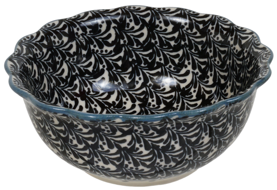 Small Fluted Bowl (Night Breeze)