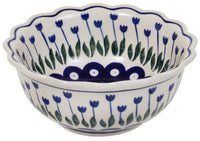 Small Fluted Bowl (Tulip Dot)